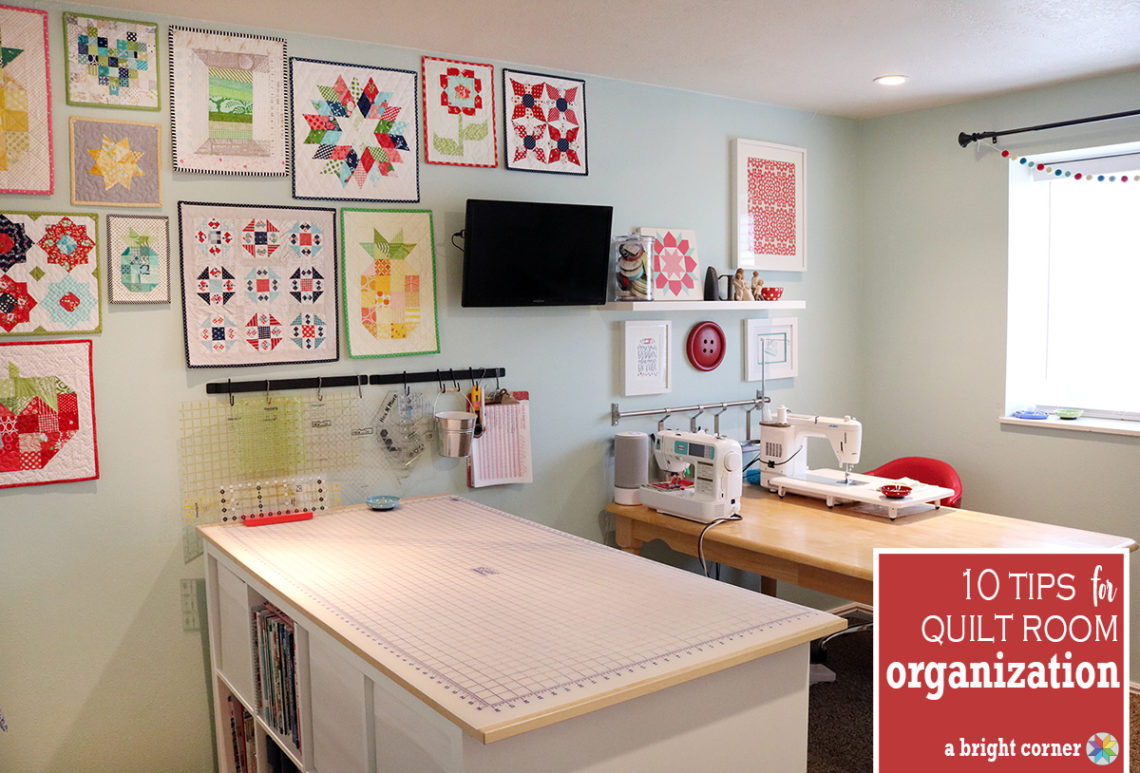 Sewing Room Designs: 10 Tips To Organize Your Sewing Room