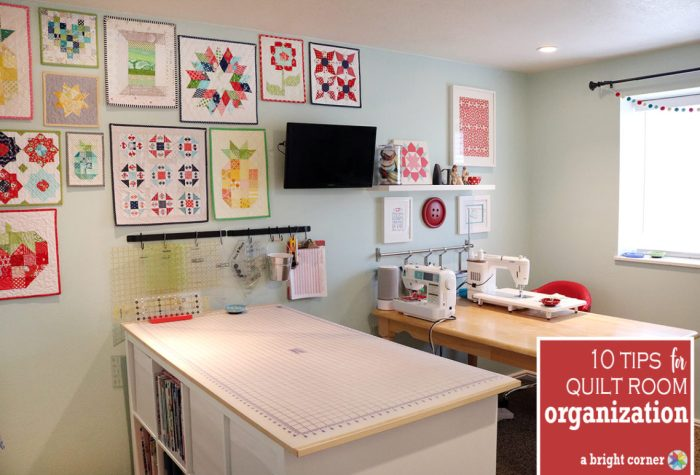 Tips for Organizing your Sewing Room