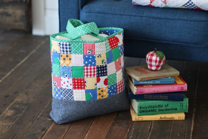 Patchwork Tote bag using Sunnyside Ave