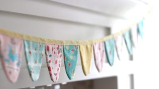 Spring Scallop Bunting