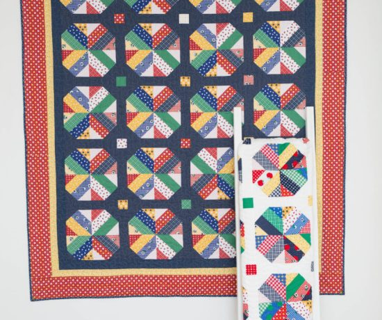 Pre-cuts friendly quilt pattern, A Bushel and a Peck by Amy Smart