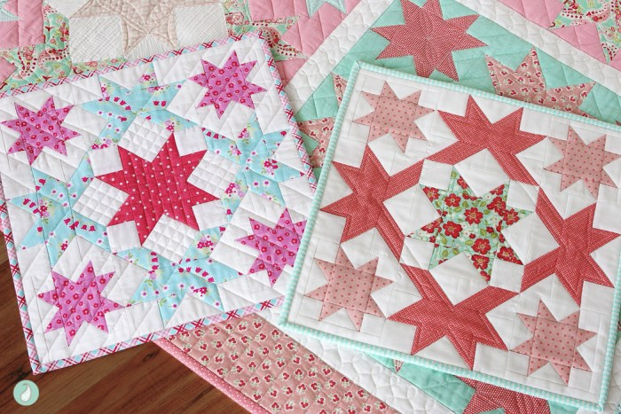 Stardust Quilt Pattern by Aqua Paisley
