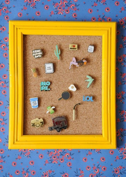 12 ideas to display your enamel pin collection