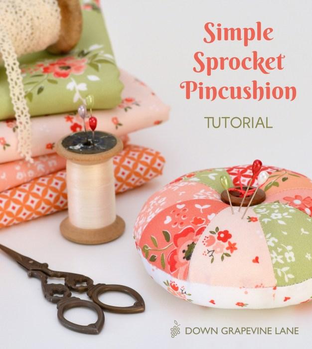 Simple Pincushion Tutorial