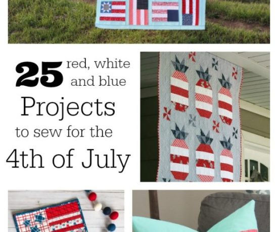 25 Red White and Blue Projects for the 4th of July
