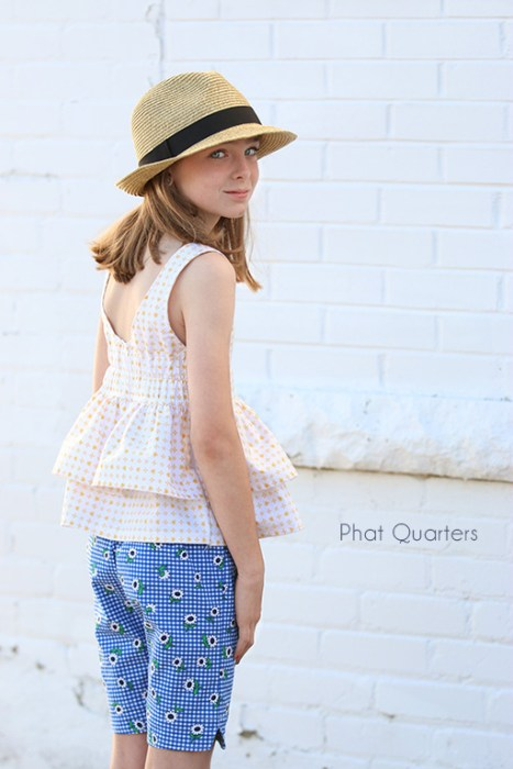 Summer sewing by Phat Quarters featuring Sunnyside Ave Fabrics