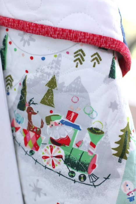 Christmas Fabric detail from Riley Blake Designs
