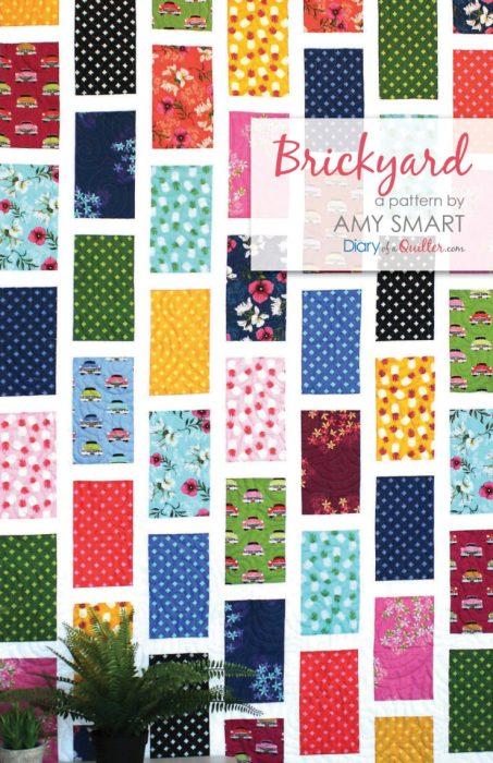 Brickyard Quilt pattern - precuts friendly - by Amy Smart