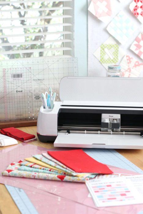 Cutting Riley Blake quilt kit with the Cricut Maker digital cutting machine