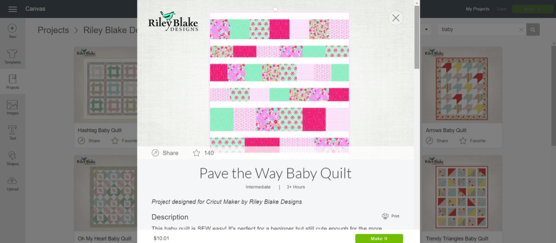 Pave The Way Quilt Pattern For Cricut Maker Diary Of A Quilter A