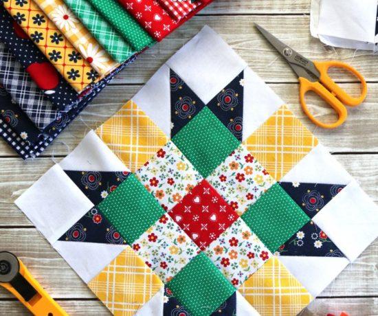 Free Quilt Block Tutorial