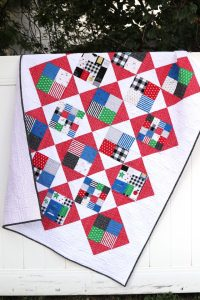 Four Square Quilt Tutorial – featuring Let Them Be Little