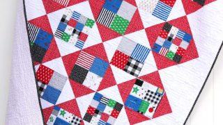Four Square Quilt Tutorial