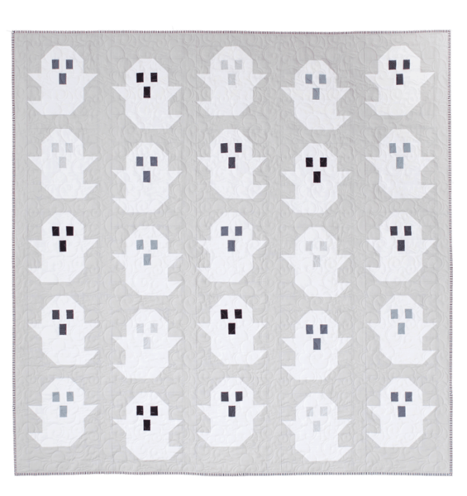 Halloween Ghost pattern from Pen and Paper Patterns