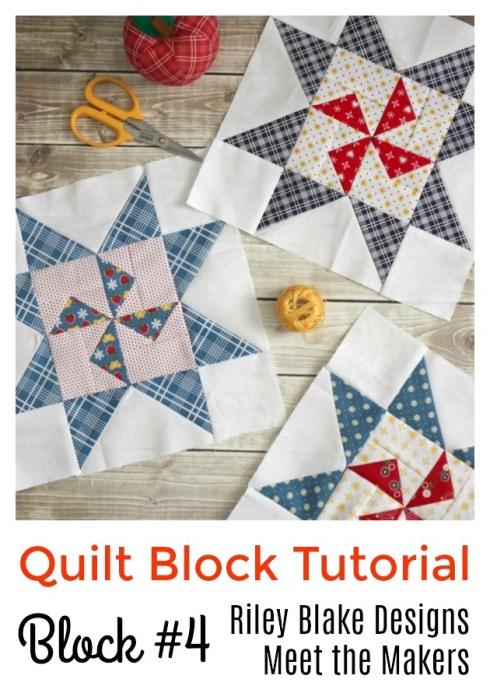 Meet the Makers Quilt Block Tutorial 4