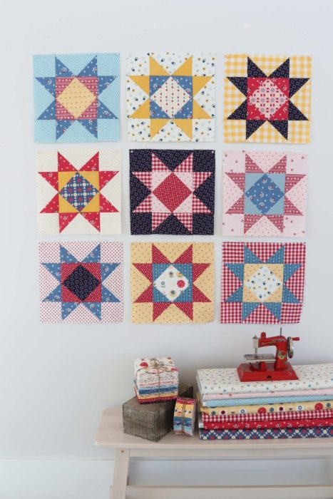 Patchwork Star quilt pattern by Amy Smart