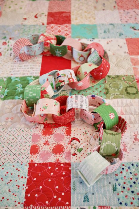 Precuts Countdown Chain by Holly of Maker Valley