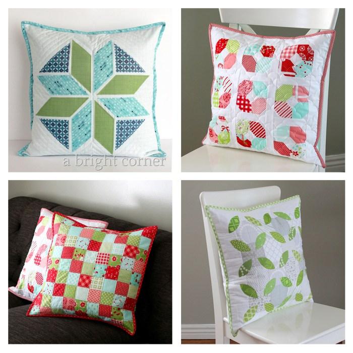 Modern Quilt Pattern Quilting Pattern Waterfall Pillow Pattern Beginning Quilter Tutorial Pillow Sewing Pattern