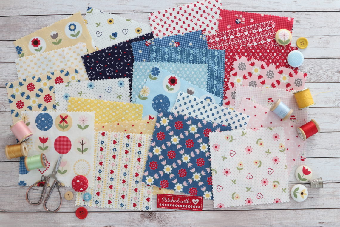 Patchwork Quilting 5 Inch Squares Moda Bee Joyful Charm Pack