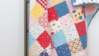 Patchwork On Point Quilt Tutorial