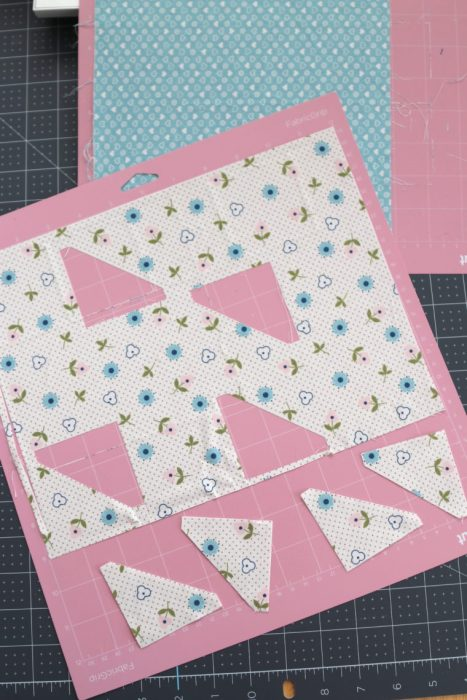 Cutting Fabric for Quilt Blocks with the Cricut Maker