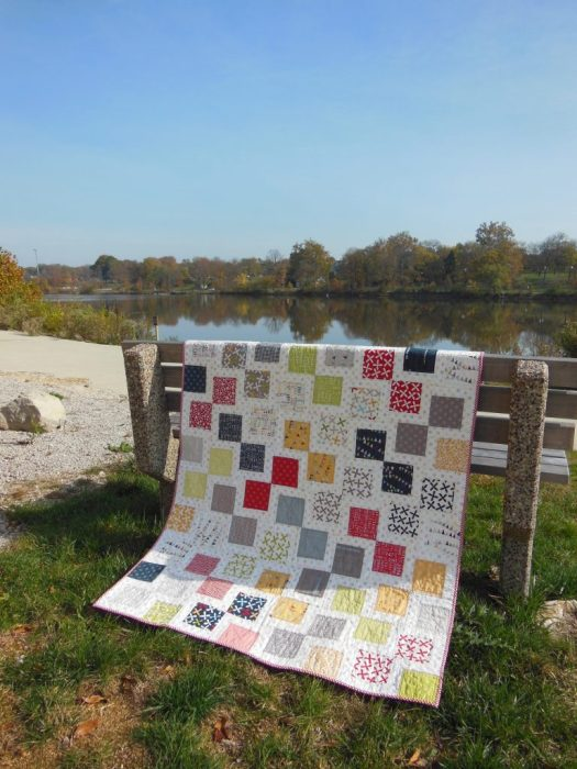 25 Favorite Charm Square Quilts & Projects featured by top US quilting blog, Diary of a Quilter