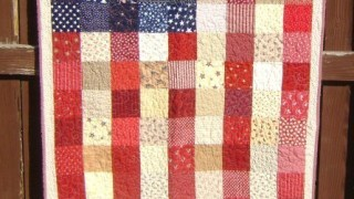 American Flag Quilt Tutorial - Diary of a Quilter - a quilt blog