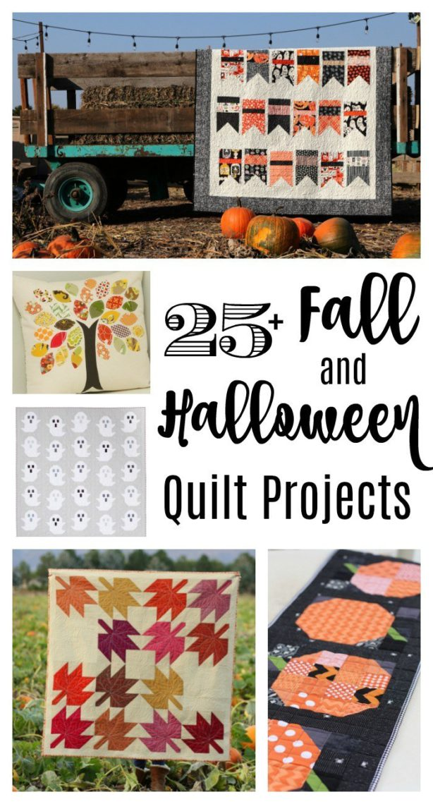 Fall and Halloween Quilt tutorials and patterns