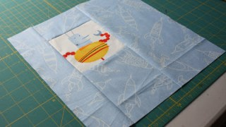 Mr Roboto - or off-set square - block tutorial - Diary of a Quilter - a quilt blog