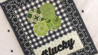 St. Patrick's Day Mini Quilt