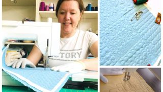Machine Quilting Tutorials from your Home Machine