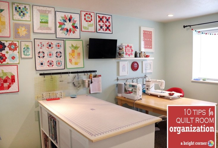 Top 10 Sewing Room Organization Tips | Sewing