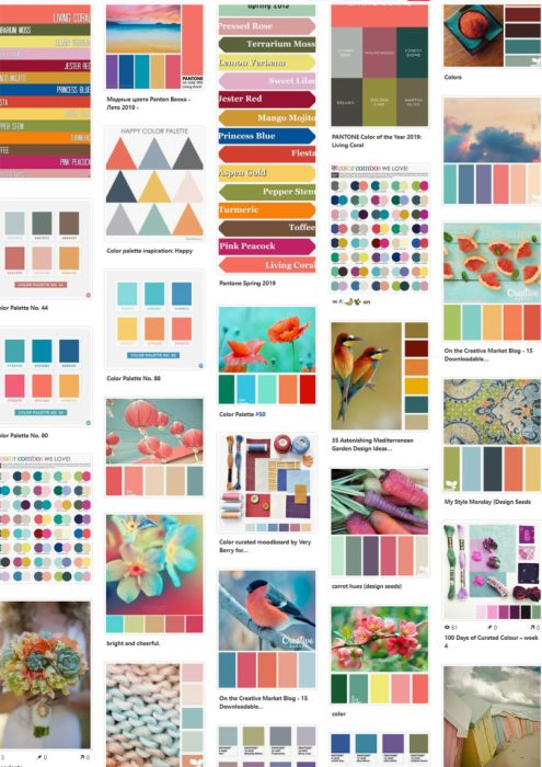Color Inspiration featured by top US quilting blog Diary of a Quilter