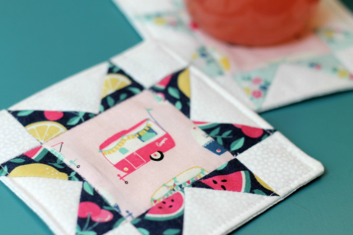 Quilt Block Coasters Tutorial Diary Of A Quilter The Blog