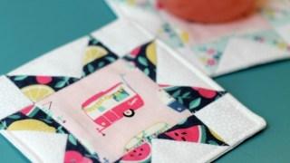Quilt Block Coasters