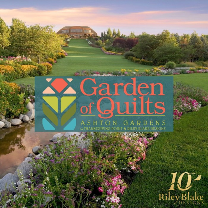 Free Video Class: Strip Piecing Quilt Patterns by popular Utah quilting blog, Diary of a Quilter: image of advertisement for Garden of Quilts