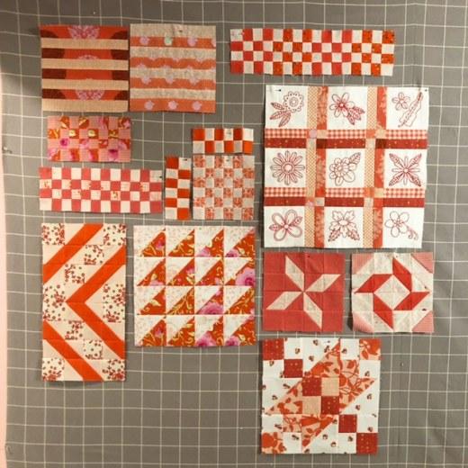 Anna Maria Horner Dear Diary Sampler Quilt Blocks