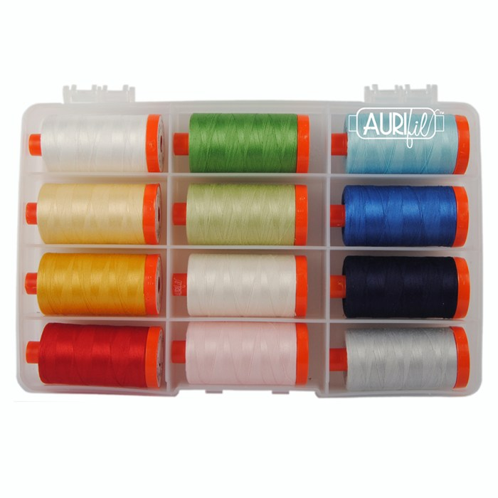 Everyday Basics for Aurifil featured by top US quilting blog, Diary of a Quilter