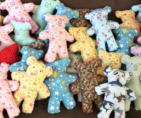 dolls of hope quilting project featured by top US quilting blog, Diary of a Quilter
