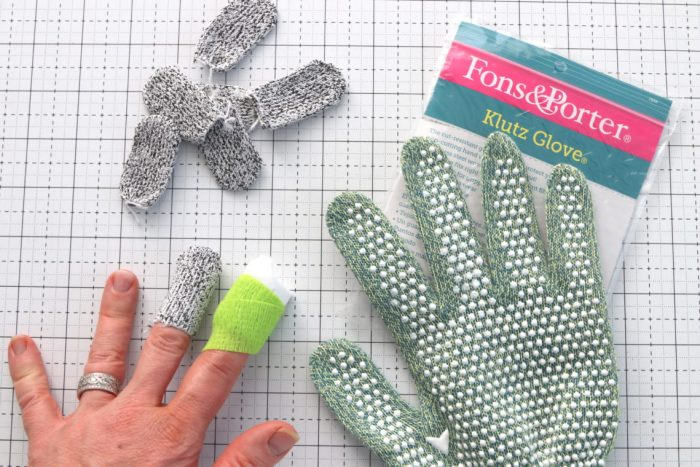 Brand New Gifts for Quilters featured by top US quilting blog, Diary of a Quilter: quilting safety gloves