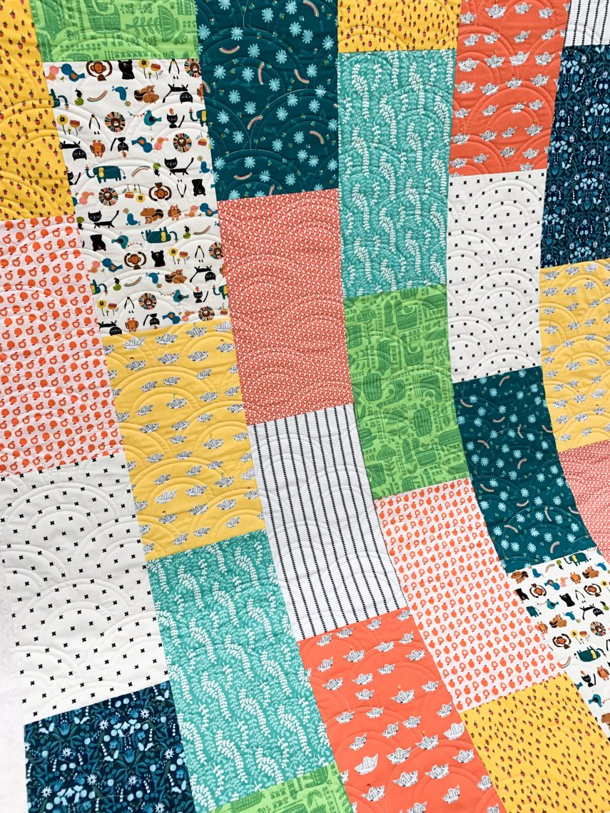 Easy Fat Quarter Quilt Quilting Diary Of A Quilter