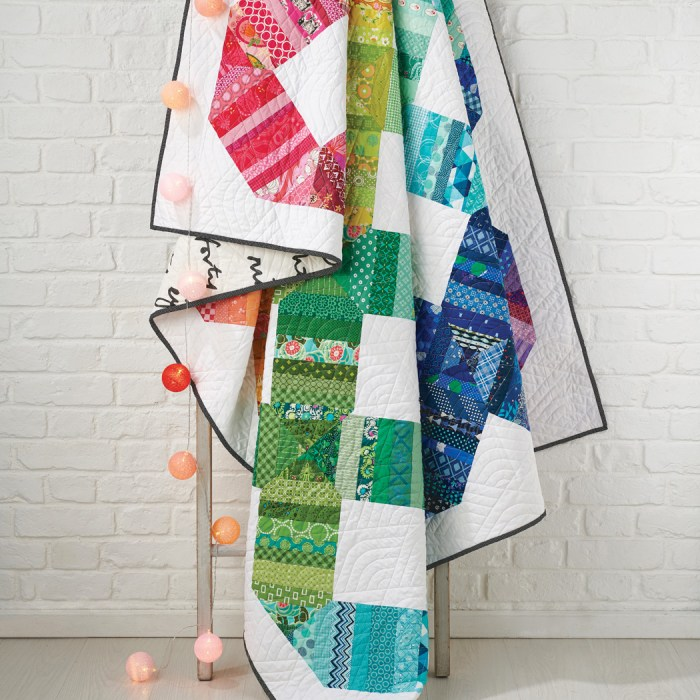 Scrap Happy Quilt by Amy Smart for Love Patchwork and Quilting magazine