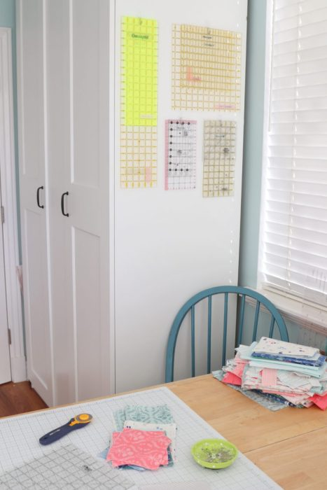 Quilting Ruler Storage Ideas