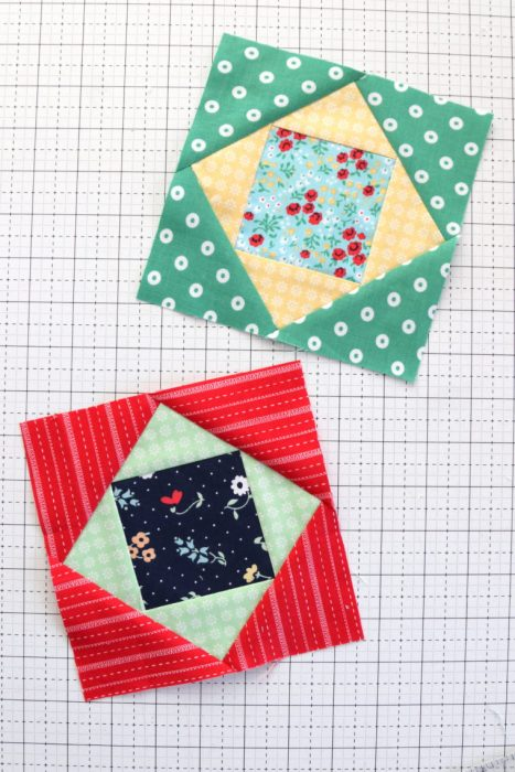 "6"" x 6"" Economy Quilt Block Tutorial"