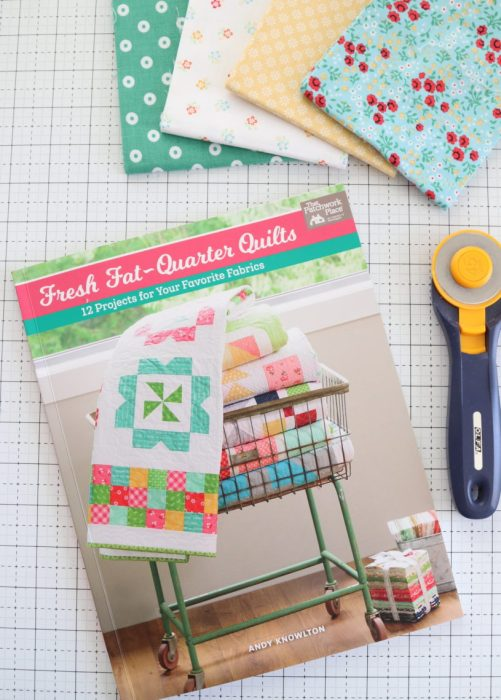 Fresh Fat Quarter Quilts book by Andy Knowlton