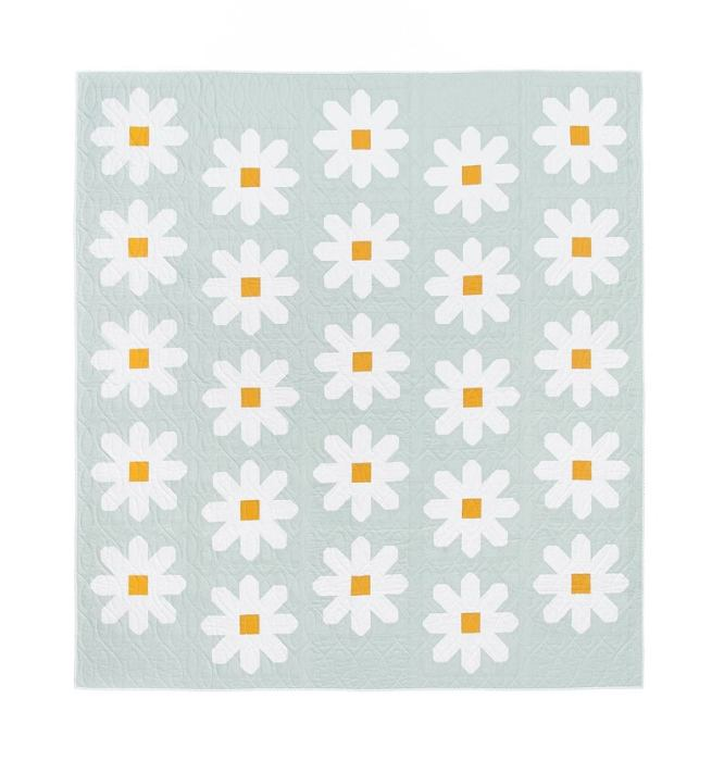Fresh as a Daisy quilt pattern from Pen and Paper