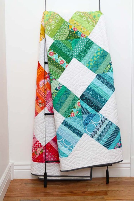 Scrap Quilt Pattern by Amy Smart - Rainbow Connection