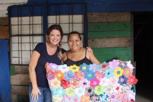 Women helping Women Support Their Families by Quilting