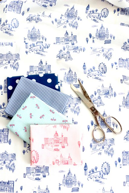 London Toile print - part of Notting Hill fabric collection for Riley Blake Designs