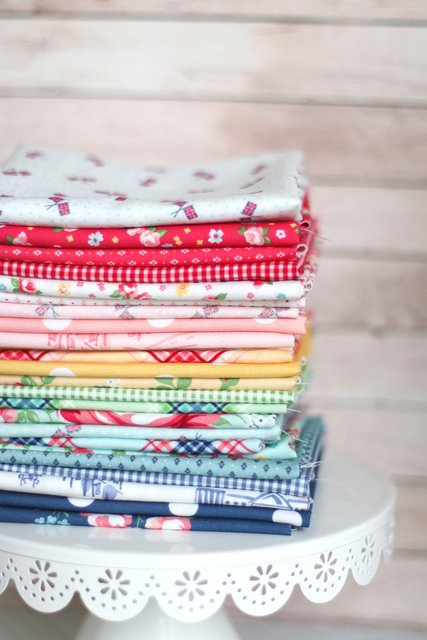 Notting Hill Fabric collection by Amy Smart of Diary of a Quilter for Riley Blake Designs